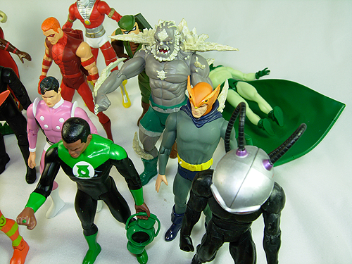 Cool Collection of DCUC Action Figures for sale