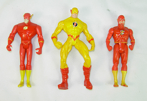 Small collection of Flash Action Figures for sale