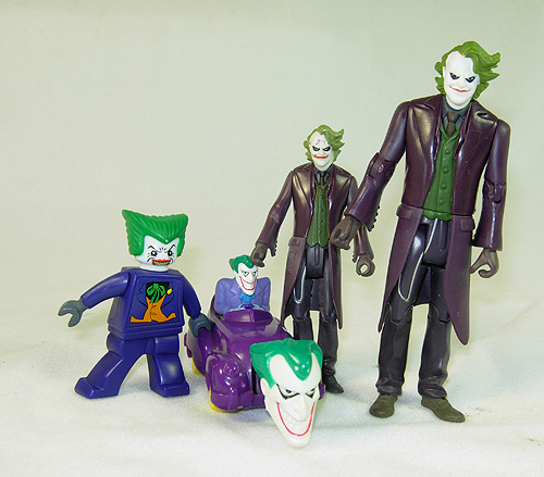 Small collection of Joker Action Figures for sale