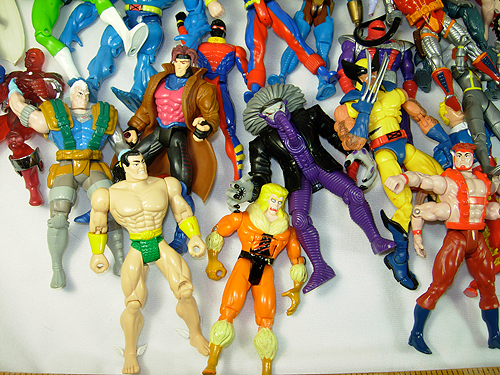 huge collection of marvel action figures for sale