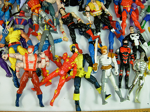 giant collection of marvel action figures for sale