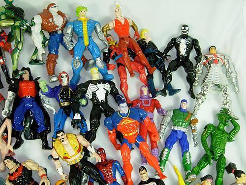 huge lot of marvel action figures for sale