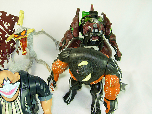 Collection of McFarlane Spawn action figures for sale