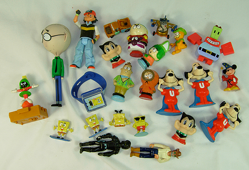 south park and underdog toys