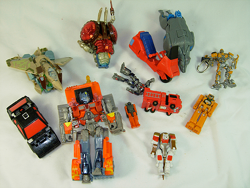 transformers and transforming things