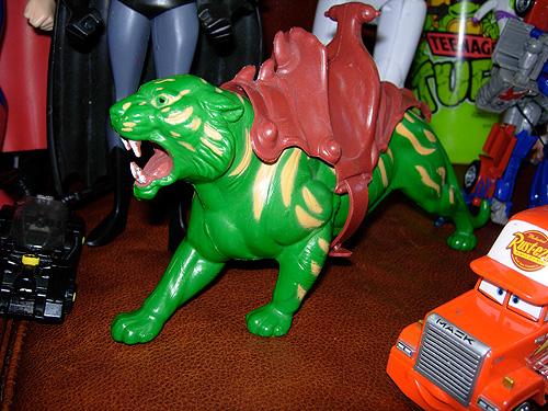 vintage He-man battle cat
