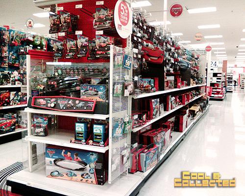 Disney Pixar Cars - Target aisle