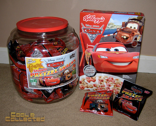 Disney Pixar Cars - Pretzels and Cereal