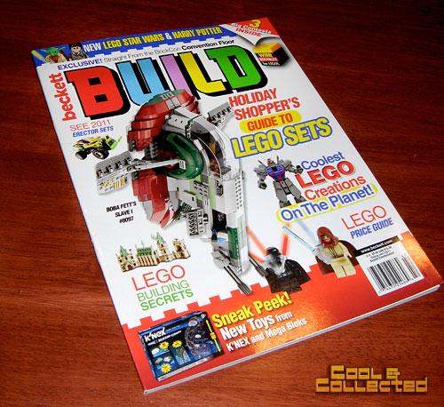 LEGO Build magazine from Beckett