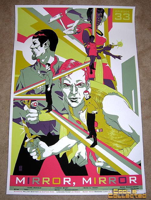 "Mondo - Star Trek ""Mirror Mirror"" poster"