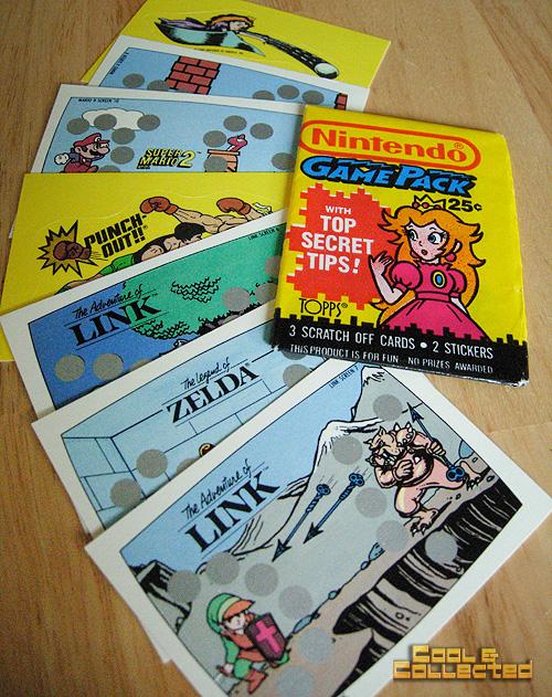 nintendo trading cards