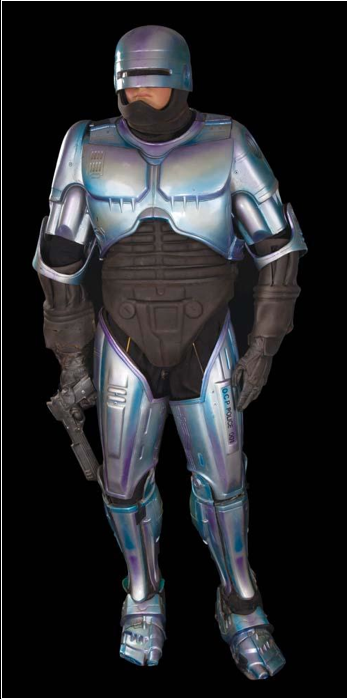 Robocop 2 costume movie prop