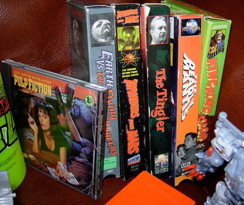 vhs horror movies