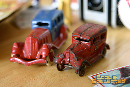 vintage cast iron toy cars