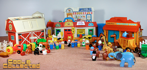 vintage fisher price little people collection