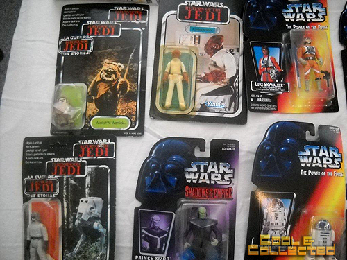 large star wars action figures collection