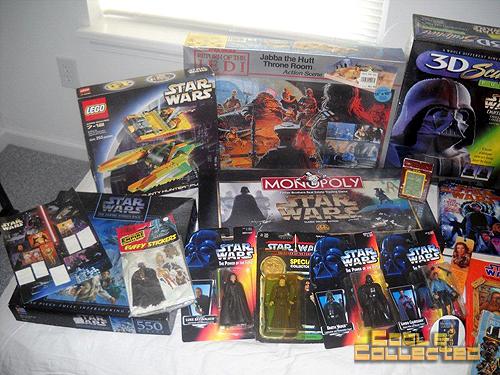 huge star wars collection