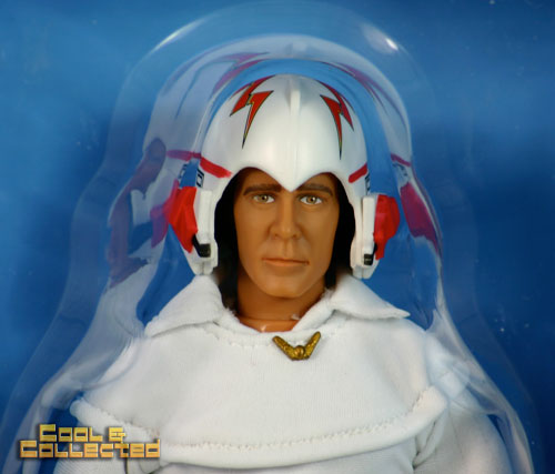 Close up detail - buck rogers  - zica action figure