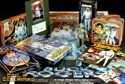 buck rogers collection of toys and memorabilia