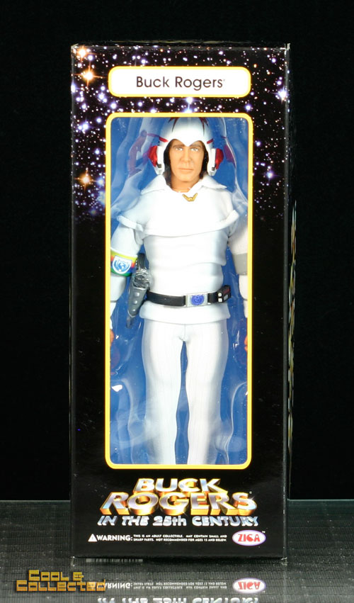 autographed by Gil Gerard - buck rogers - zica figure