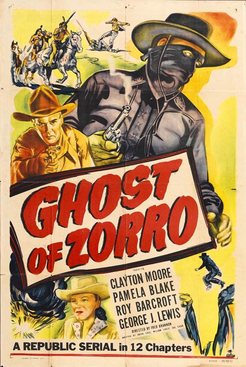 Ghost of Zorro movie poster