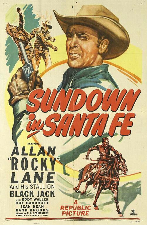 Sundown in Santa Fe movie poster