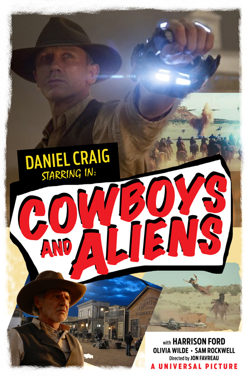 cowboys and aliens concept