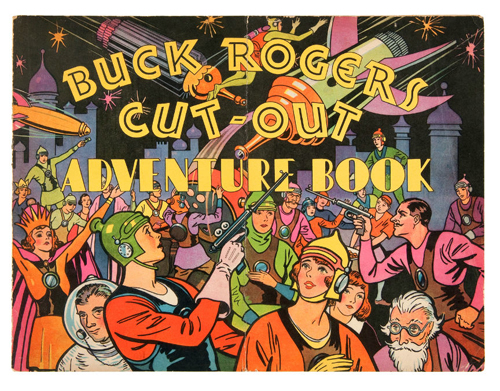 hakes buck rogers adventure book
