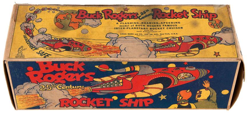 hakes buck rogers marx spaceship