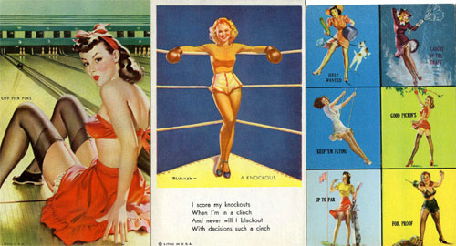 hakes mutoscope pinup cards