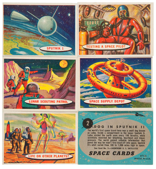 hakes space cards