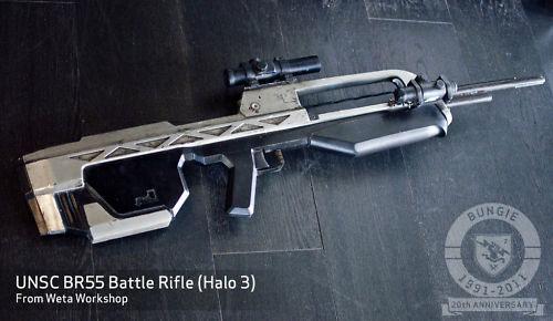 Halo battle rifle by Weta Studios