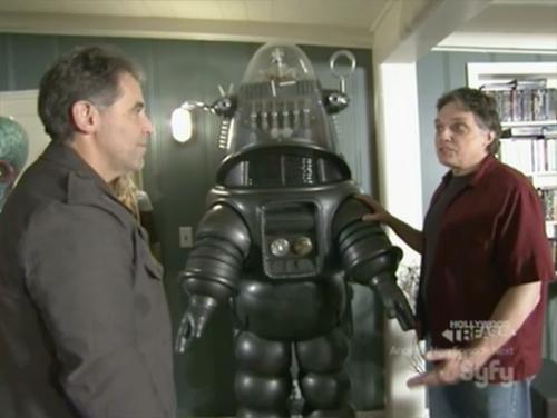 hollywood treasure - robbie the robot