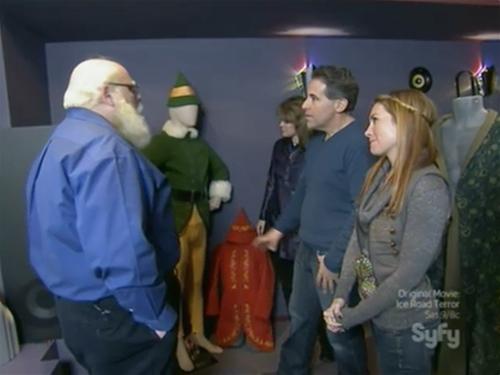 Syfy hollywood treasure - Buddy the Elf costume