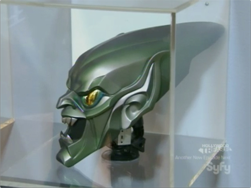 Syfy Hollywood Treasure -- Spiderman Green Goblin Mask