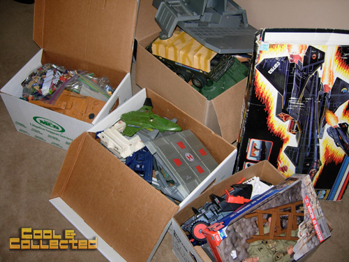 huge gi joe collection