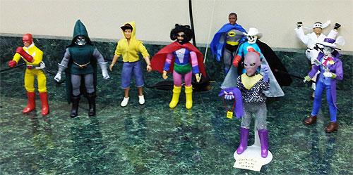 mego meet - mego figures