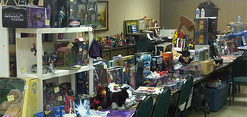 mego meet tables of toys