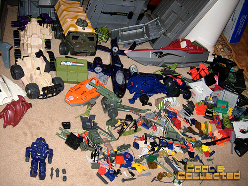 GI Joe Collection - huge lot of action figures and vehicles