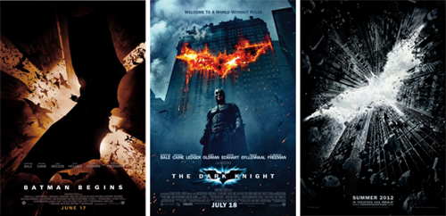Batman movie posters