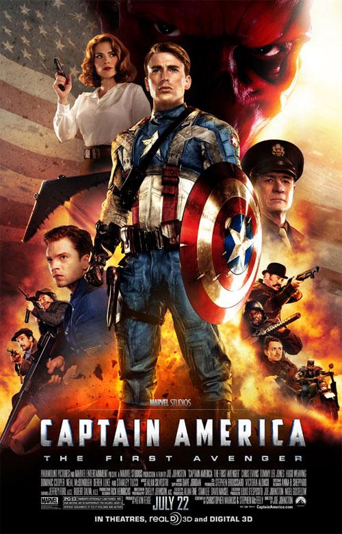 captain america movie poster international version