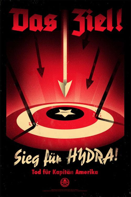 captain america movie poster mondo olly moss