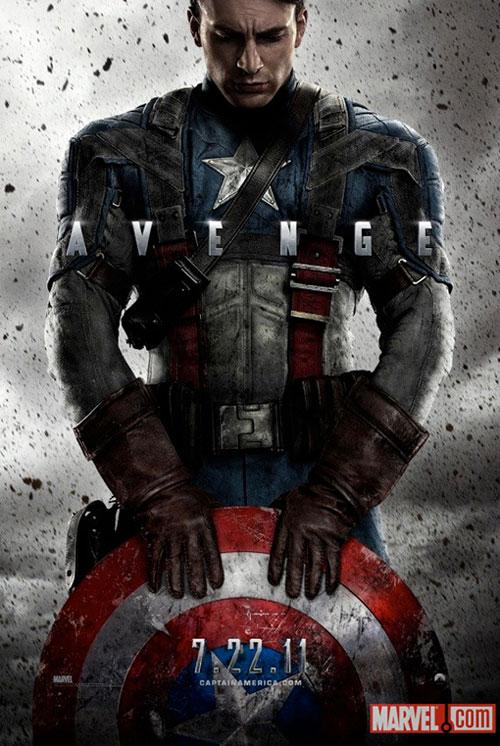 captain america movie poster teaser