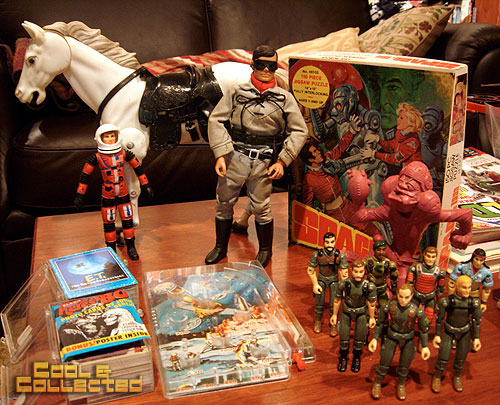 dc big flea - haul of items for my collection