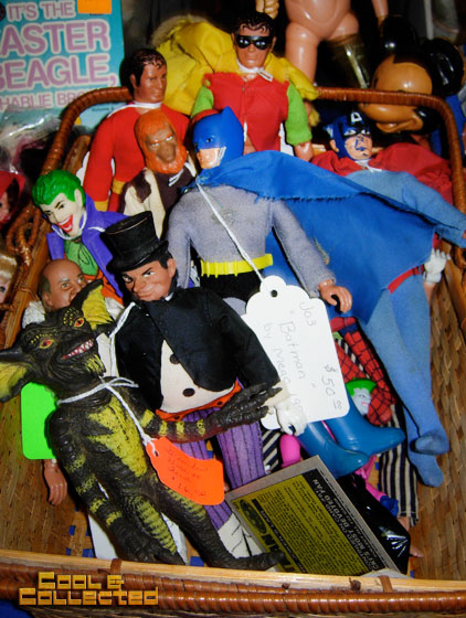 dc big flea - collectible mego dolls