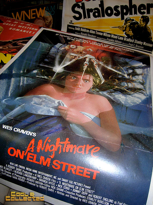 dc big flea - nightmare on elm street movie poster