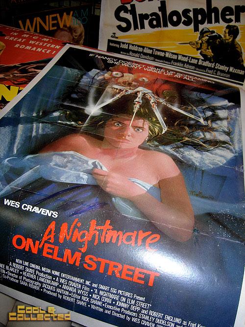 dc big flea - nightmare on elm street movie poster