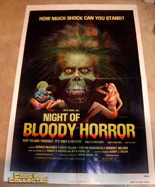 dc big flea - night of bloody horror movie poster