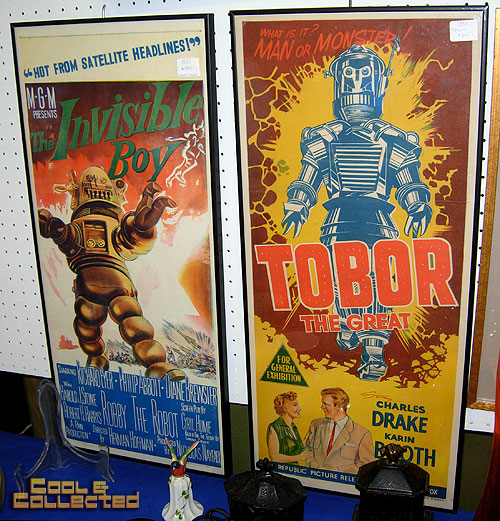 dc big flea - sci fi movie inserts