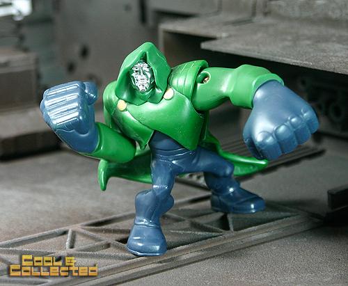 dr doom action figure - Burger King toy